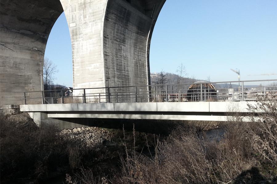Brückenkappen-Fertigteile in Nagold