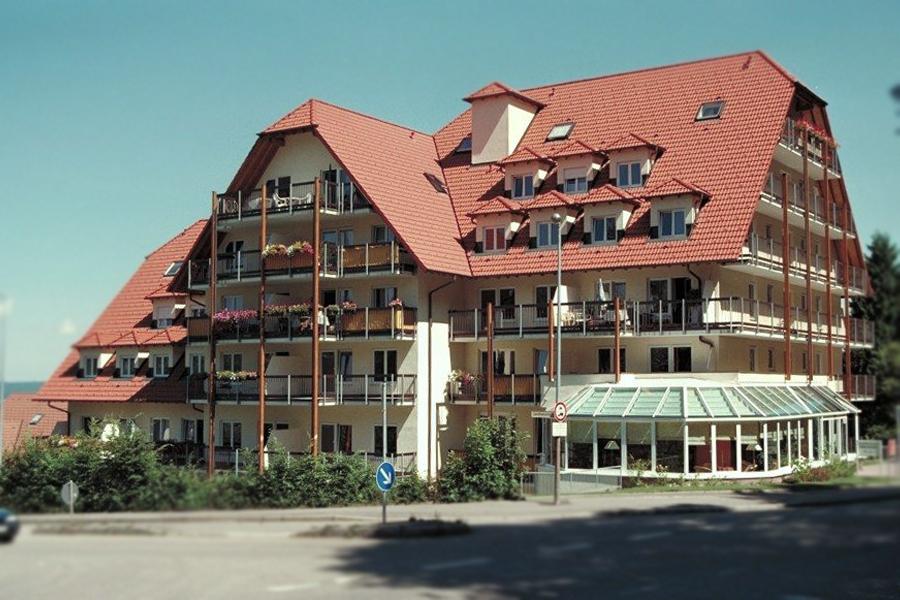 Seniorenwohnanlage in Freudenstadt erbaut mit Rau-Bausystem