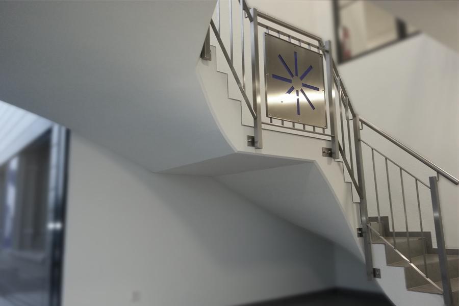 Sondertreppenlauf Firmengebäude Marquardt & Schaupp