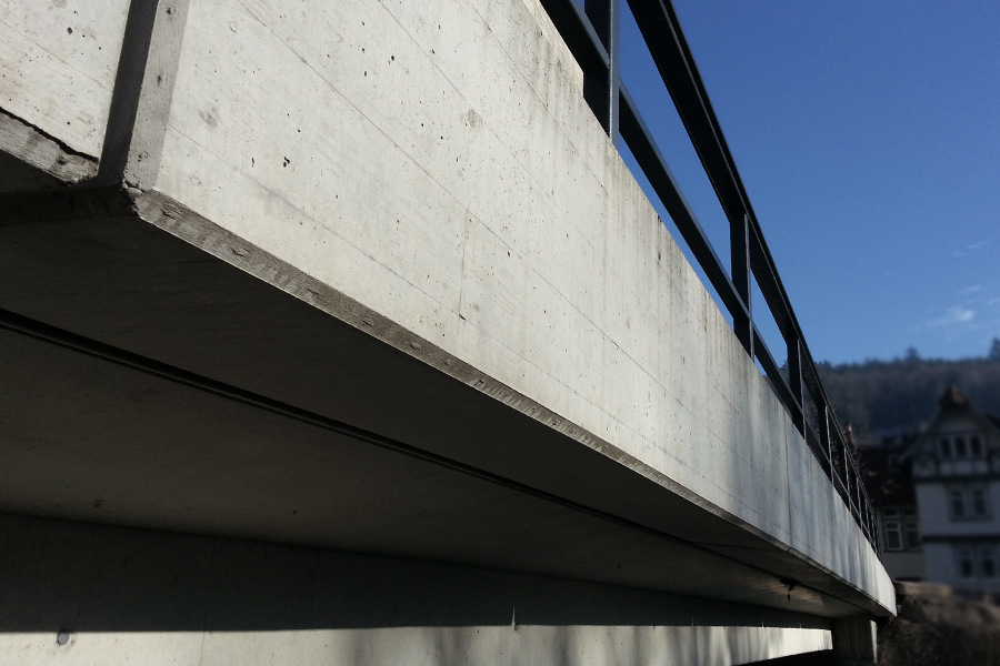 Brückenkappen-Fertigteile